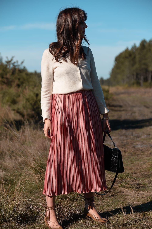 Coudre une jupe plissée sans patron