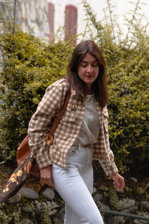 Hack Billie de Slow Sunday version veste dans un drap de laine Pretty Mercerie