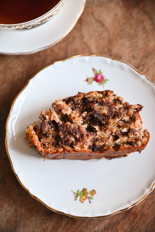 Recette du banana bread healthy - cake a la banane sain