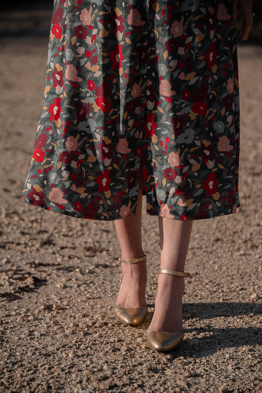 Coudre la jupe Sillon de Anne Kerdlilès