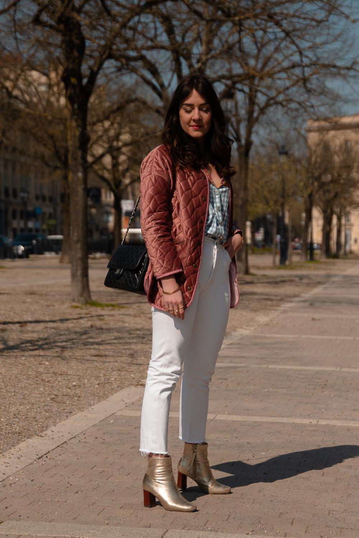 Blouse Chorkat de Love and Jam et veste Nicole de République du Chiffon