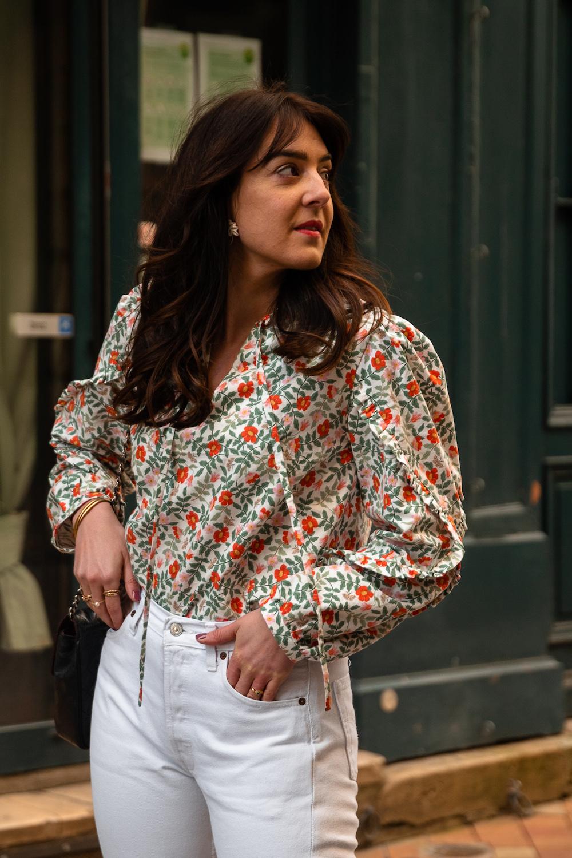Coudre la blouse Justine d'Apolline Patterns