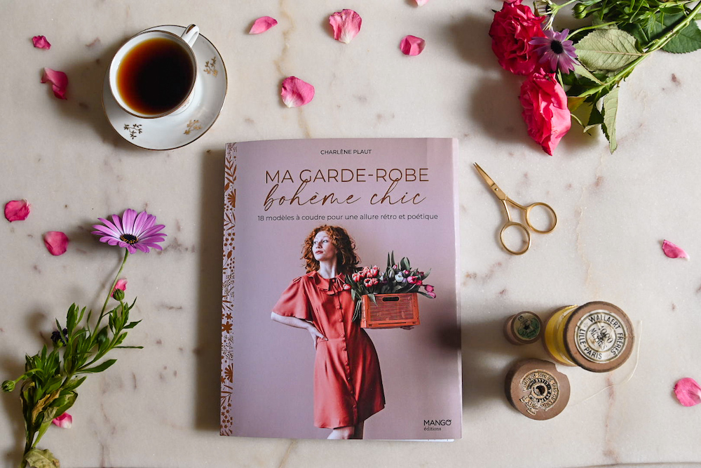 "Livre ""Ma garde-robe bohème chic"" - Charlène PLAUT - Editions MANGO"