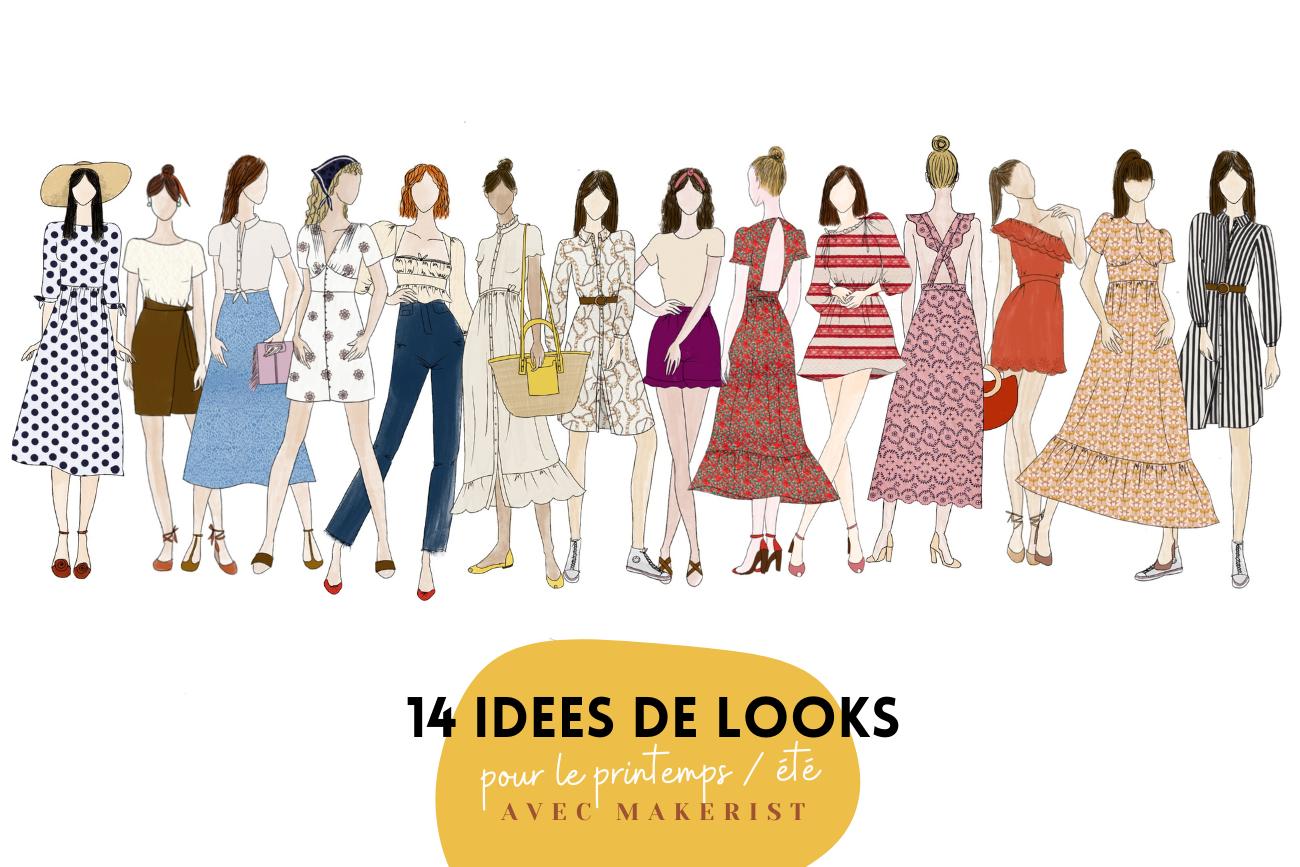 14 idées de looks pour le P/E avec Makerist