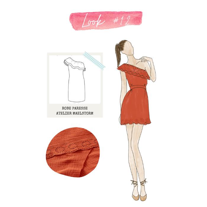 Look 12 : robe paresse