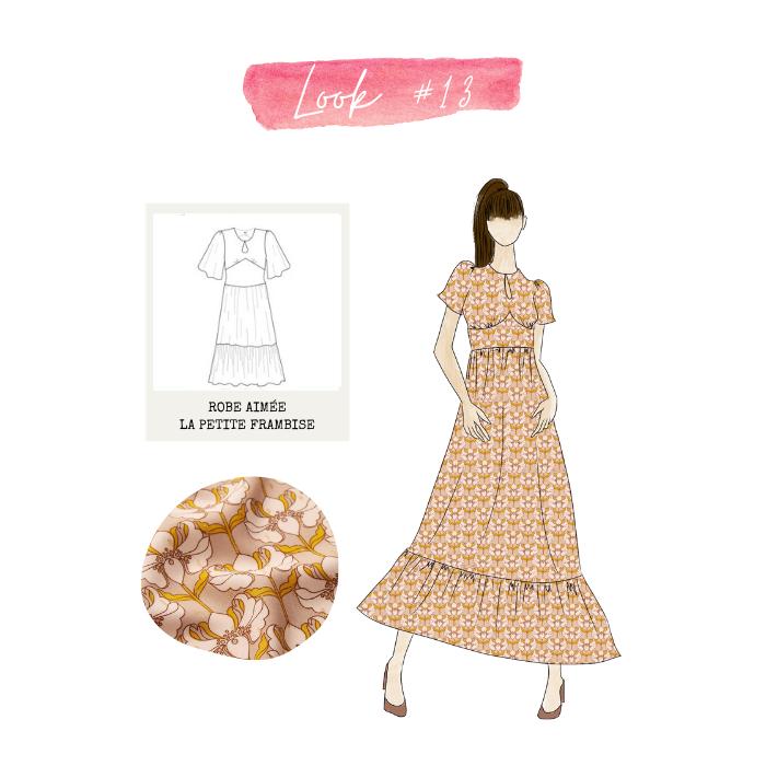 Look 13 : robe Aimée