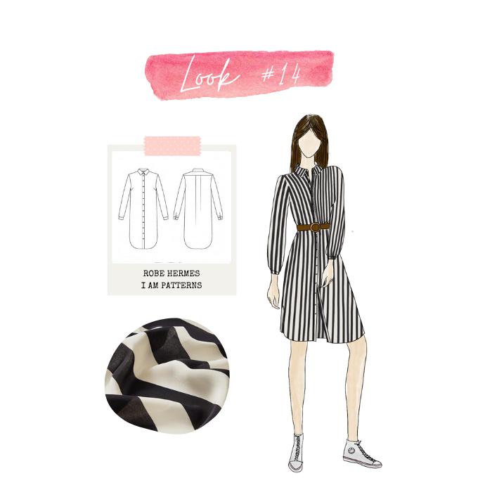 Look 14 : robe Hermès
