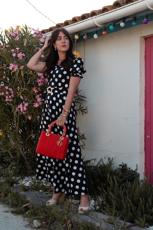 "Coudre la robe Rose du livre ""Ma garde-robe bohème chic"""
