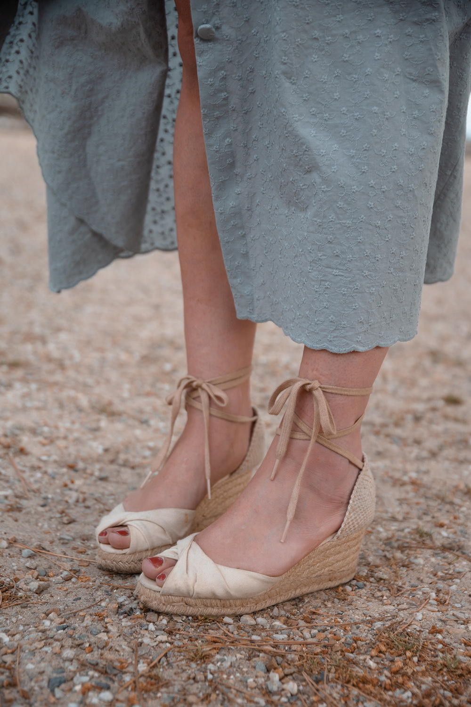 """Robe Violette (sans manches) du livre """"Je couds ma garde-robe bohème chic"""""""