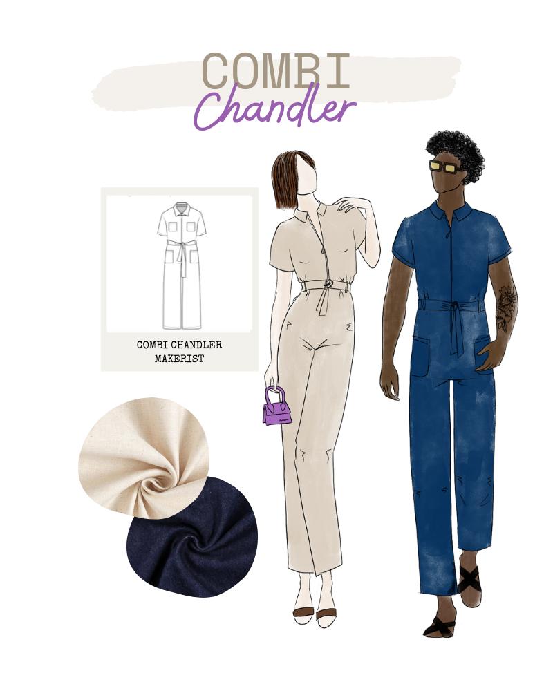 Collection FRIENDS de Makerist - Combinaison Chandler mixte