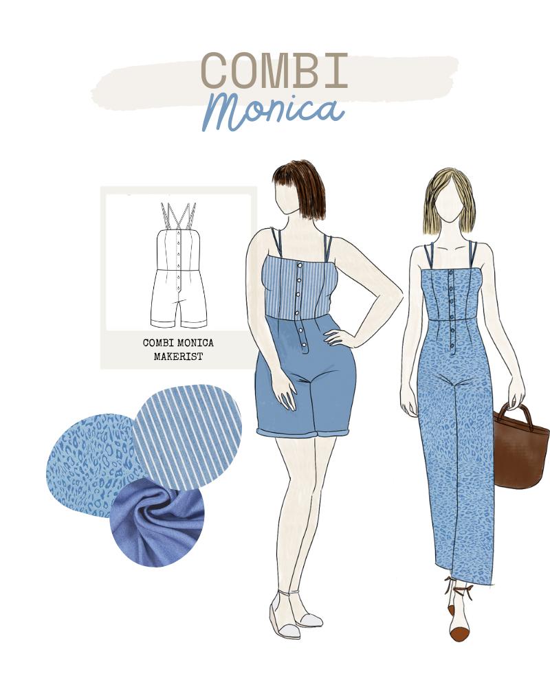 Collection FRIENDS de Makerist - Combinaison Monica