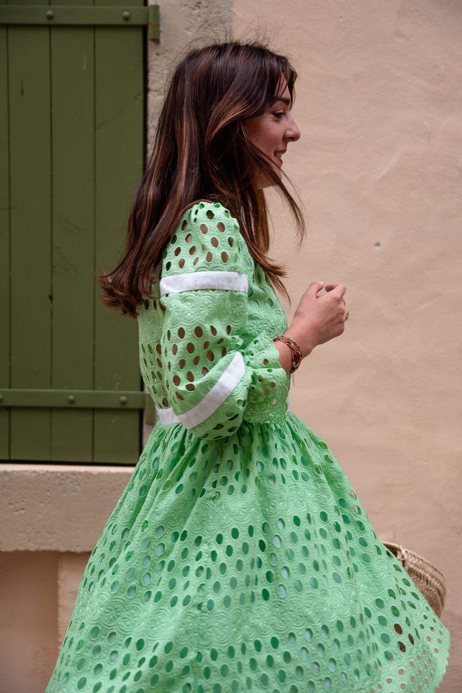 Coudre la robe Marguerite version courte - Livre Ma garde-robe bohème chic