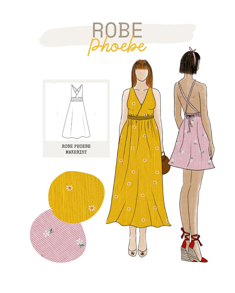 Collection FRIENDS de Makerist - Robe Phoebe