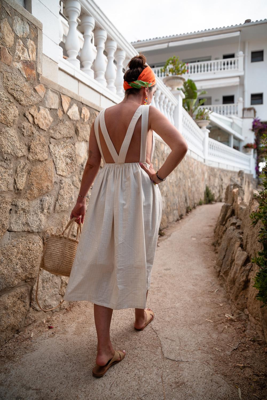 Coudre la robe Mimosa de Bloom Ateliers
