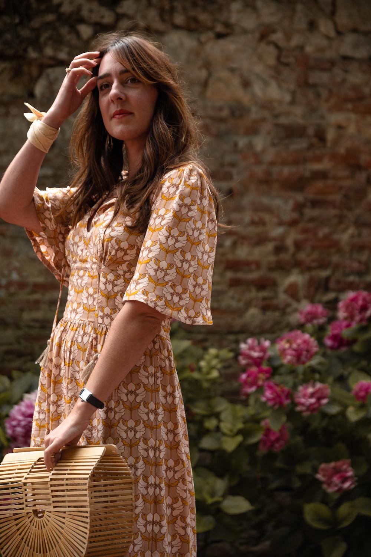 Coudre la robe Aimée de La Petite Frambise