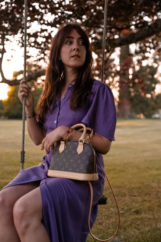 "Coudre la robe Violette du livre ""Ma garde-robe bohème chic"""